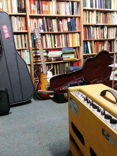 bookshop gig, Jed