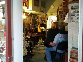 Music in the bookshop