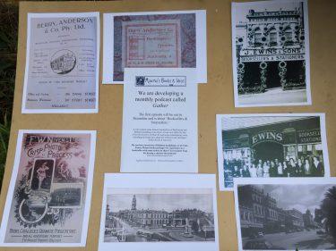 Ballarat books display